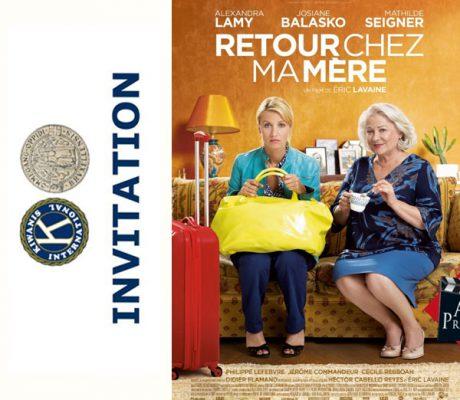 Invitation à l'avant-première du film « RETOUR CHEZ MA MÈRE »