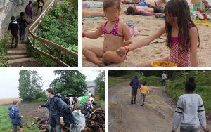 Les enfants et les adolescents de l'Amarrage ont pu profiter de supers vacances… !