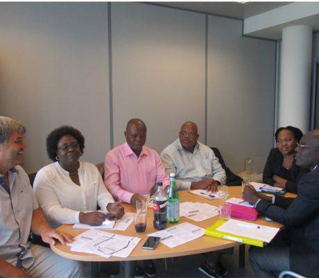 Une délégation béninoise à la rencontre de nos institutions d'A.J