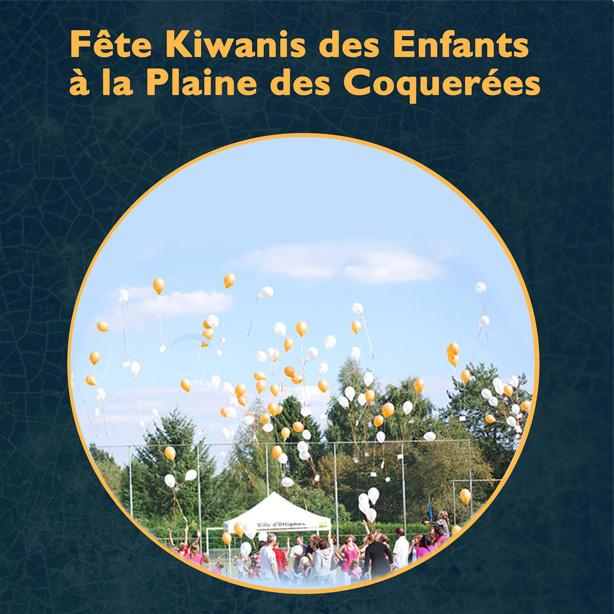 Fête Kiwanis des Enfants à la Plaine des Coquerées