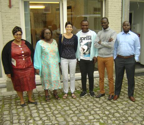 Une délégation béninoise en Belgique